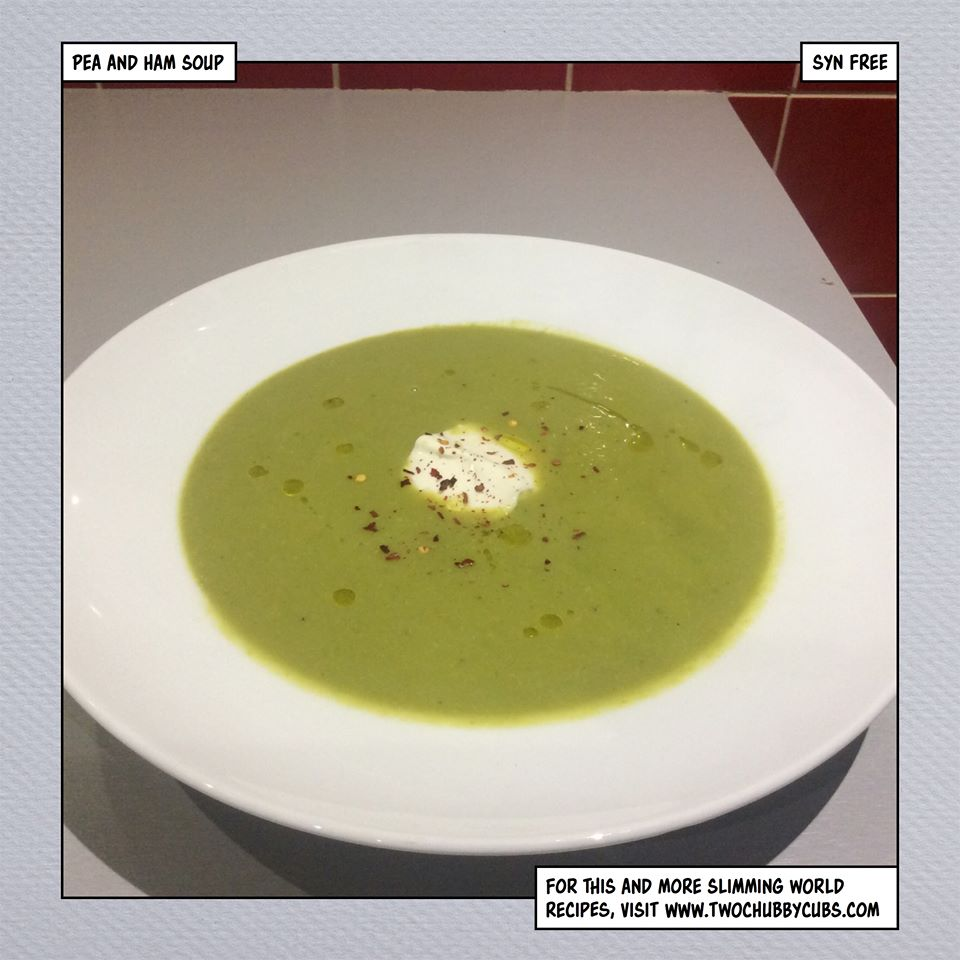 how to make pea and ham soup thicker