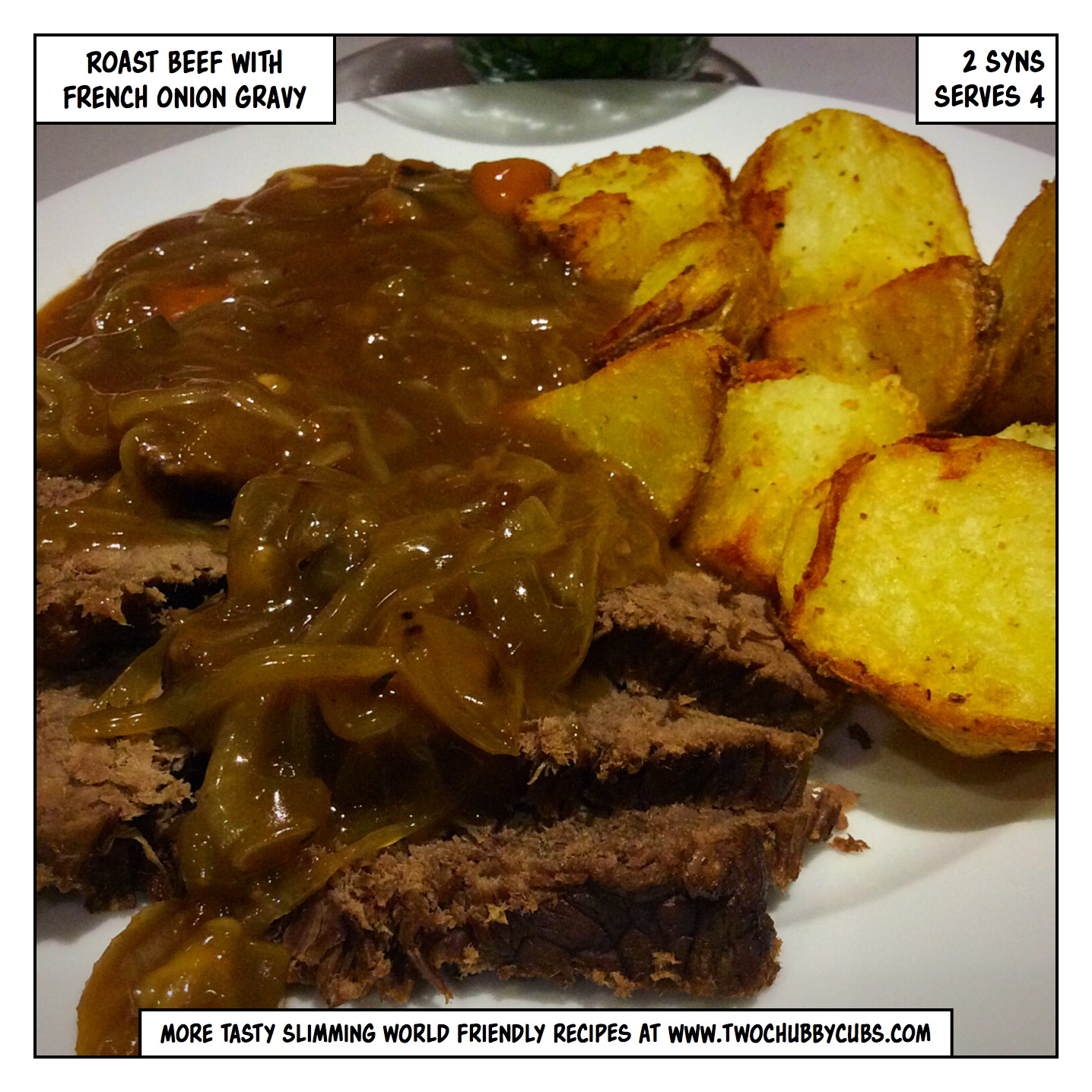 Roast Beef With French Onion Gravy Slimming World Friendly