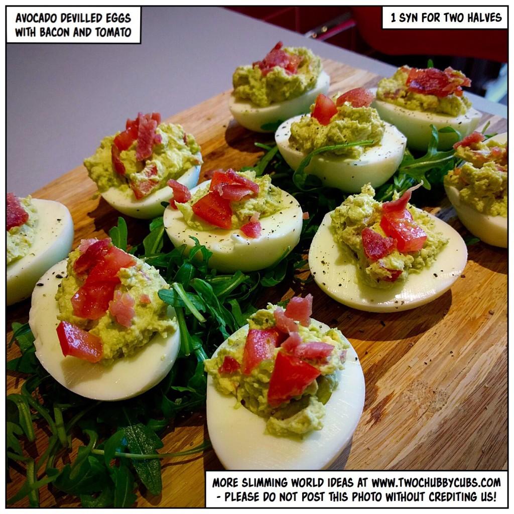 Avocado Devilled Eggs An Excellent Snack Idea