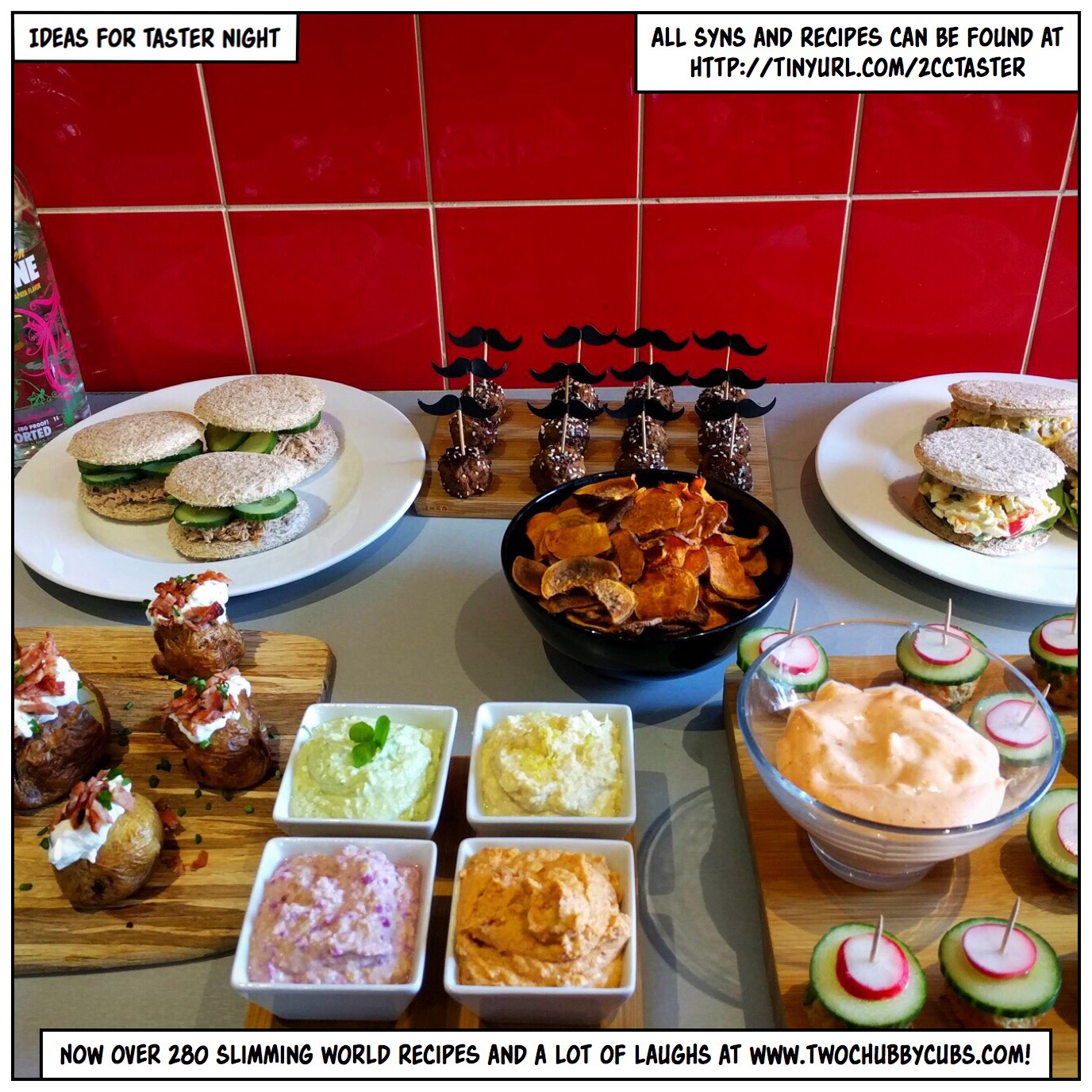 Taster night ideas for slimming world twochubbycubs Slimming world meal ideas