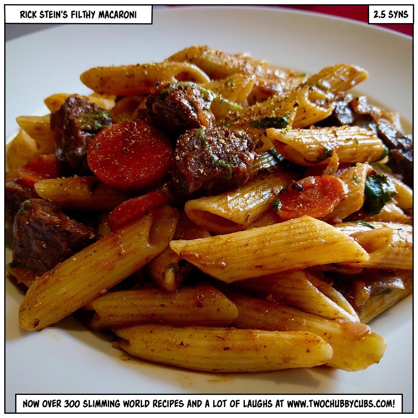 Rick Stein 39 S Filthy Macaroni