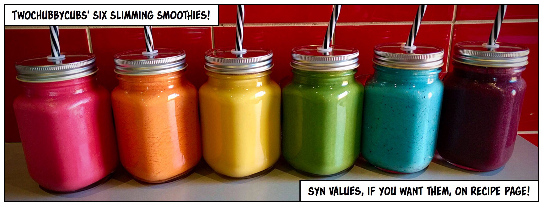 Six Slimming Smoothies Twochubbycubs