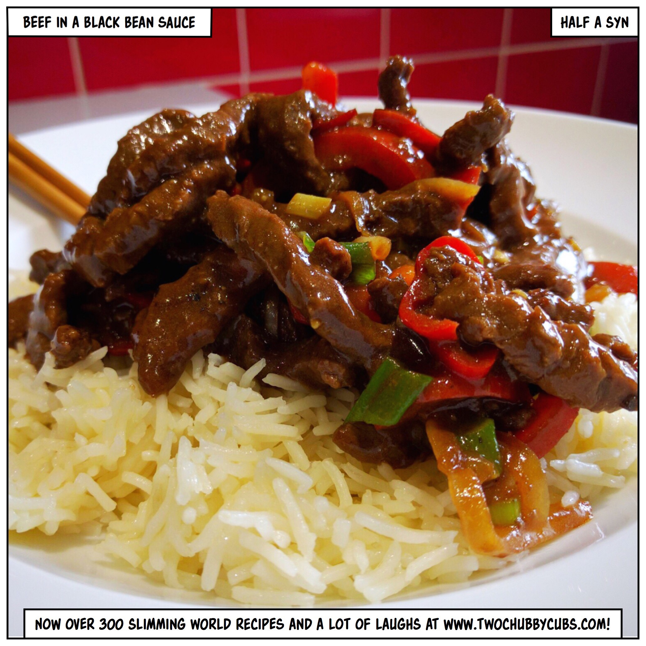 beef in blackbean sauce slimming world