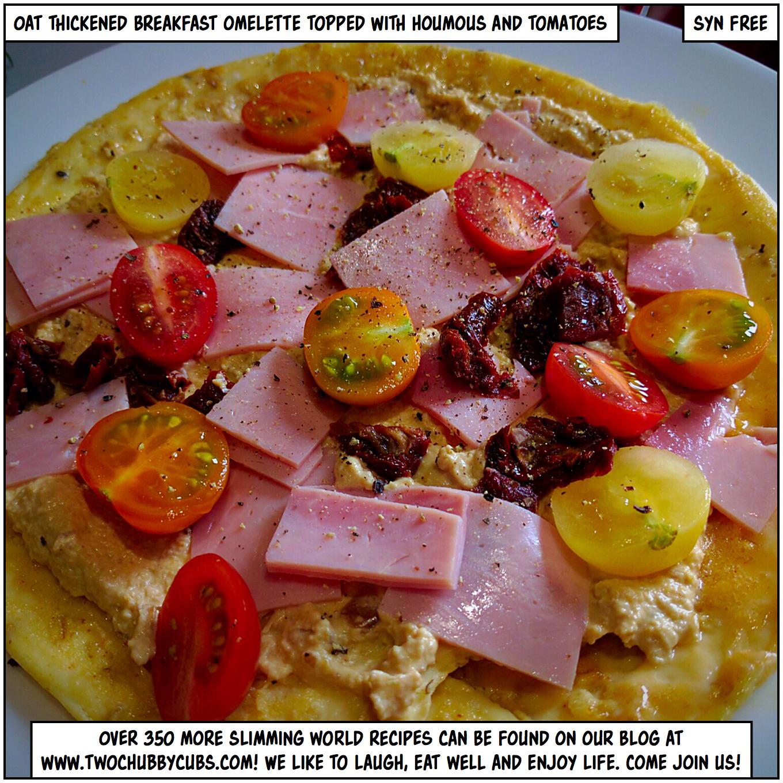 oaty breakfast omelette