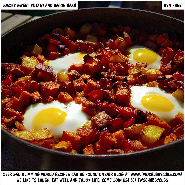 Syn Free Syn Free Smoky Sweet Potato And Bacon Hash