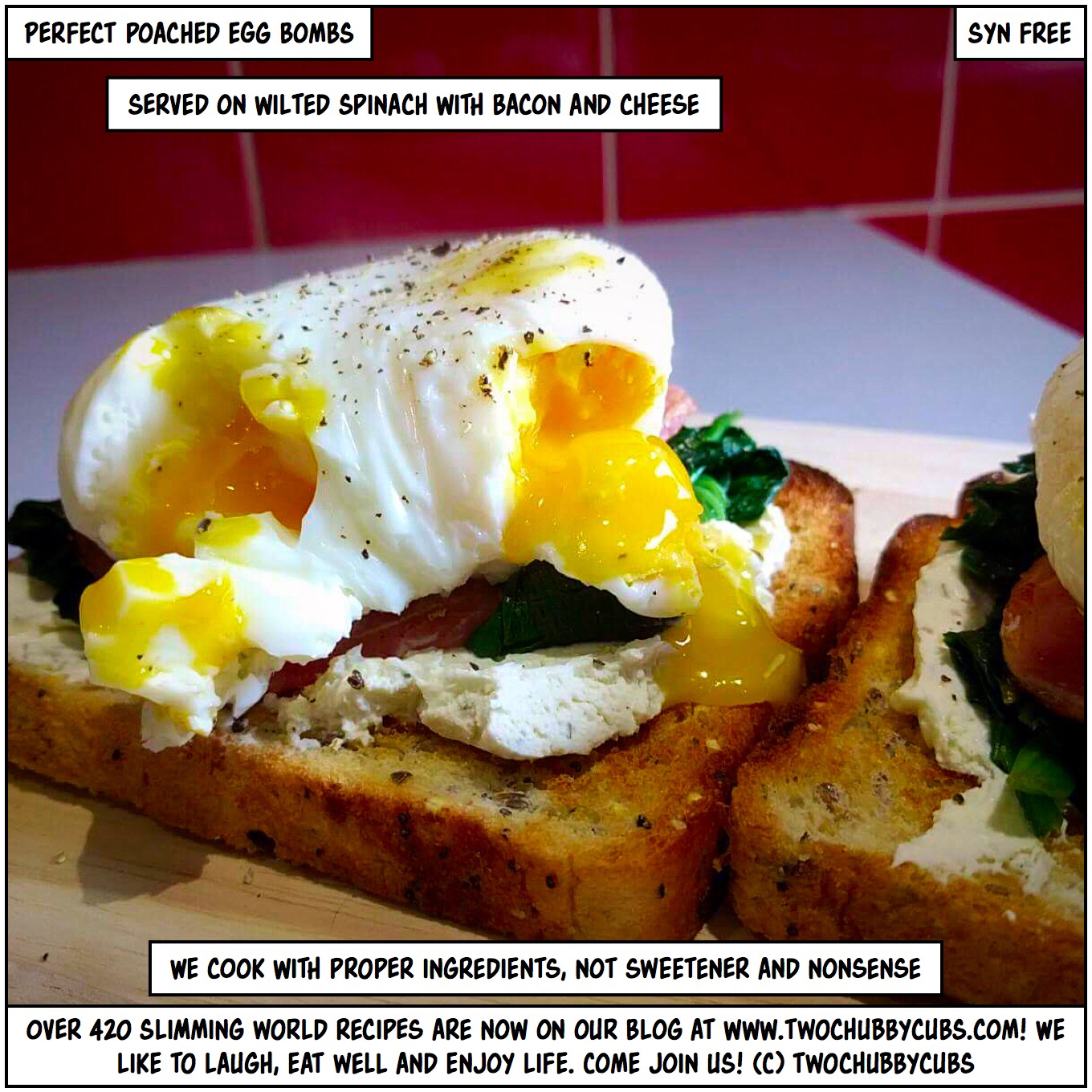Perfect poached egg bombs poaching eggs made easy Slimming world recipes for 1 person
