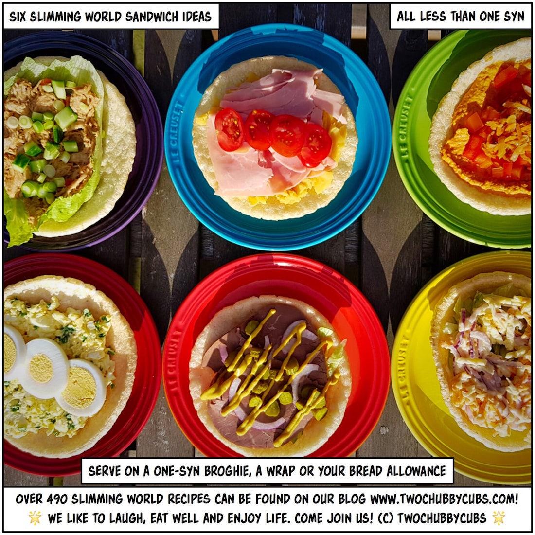 Six Slimming World Sandwich Fillings Twochubbycubs