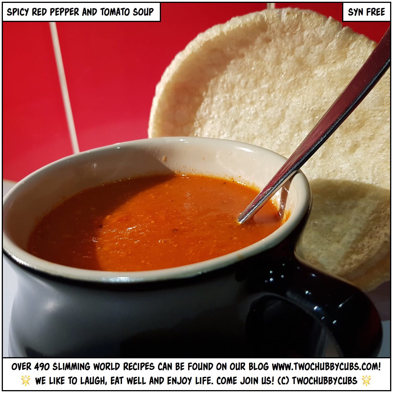 Christmas Clear Out Spicy Red Pepper And Tomato Soup