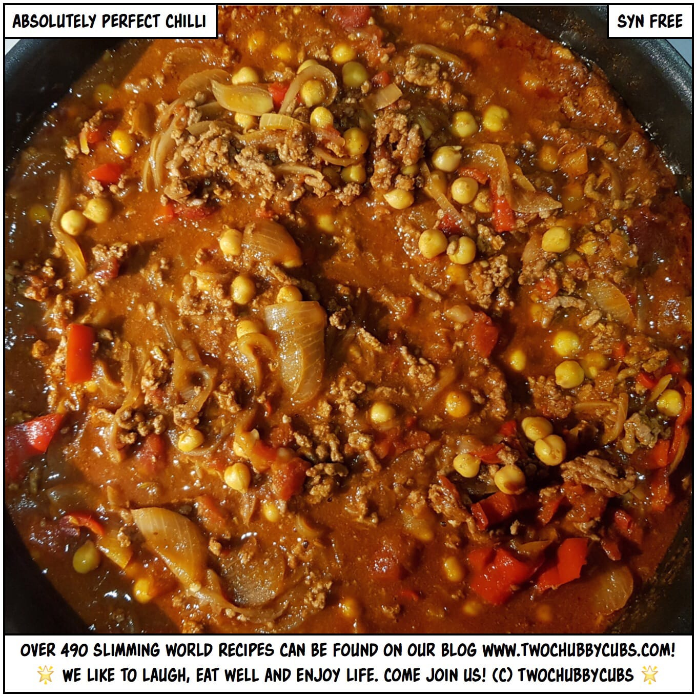 syn free chilli: warm your soul AND your hole - twochubbycubs