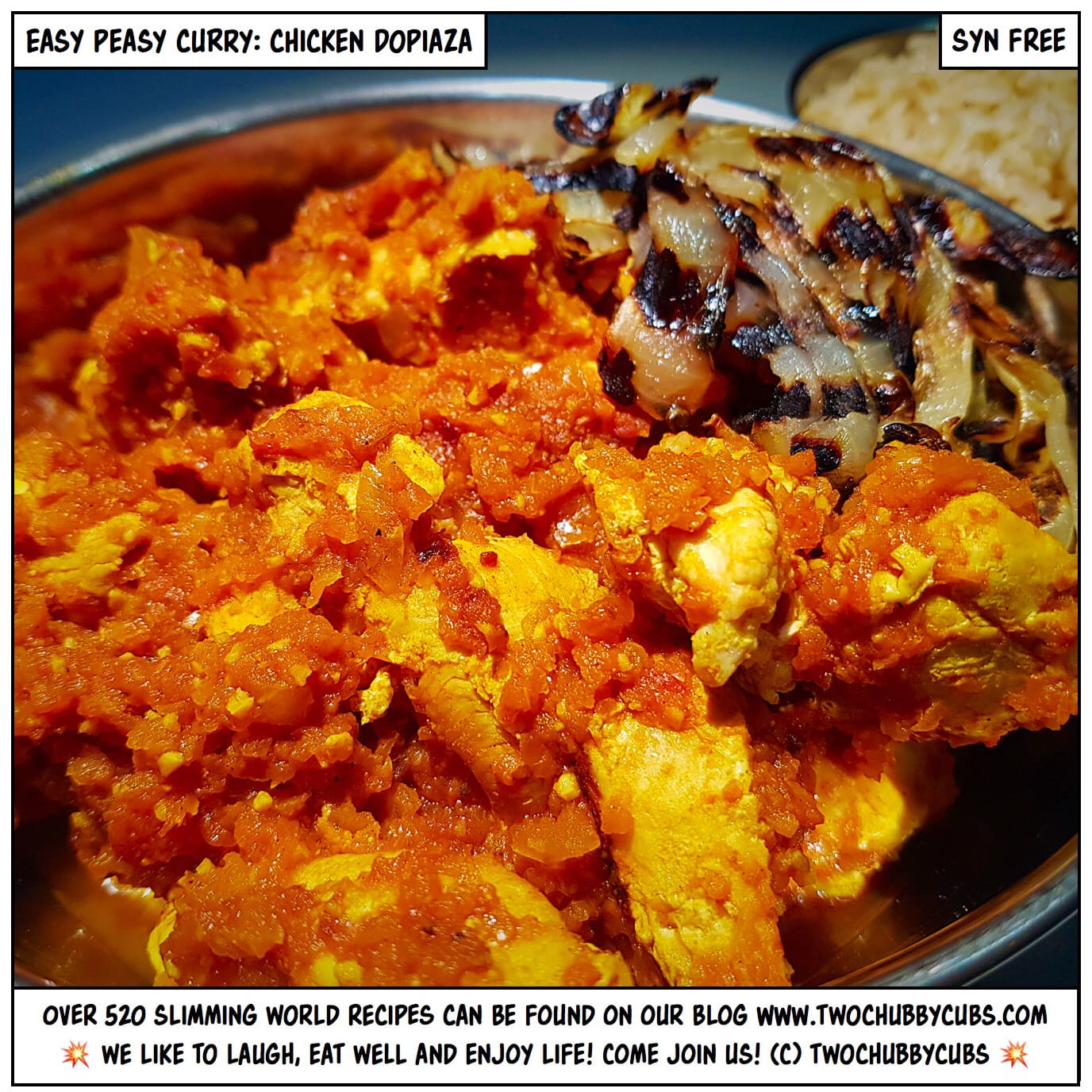 Chicken Dopiaza Syn Free Easy To Make Gorgeous Curry
