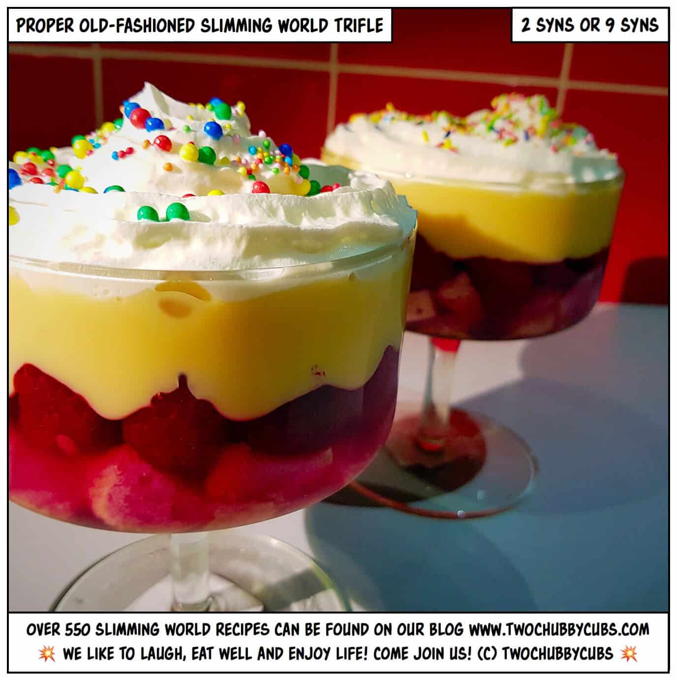 A Proper Slimming World Trifle